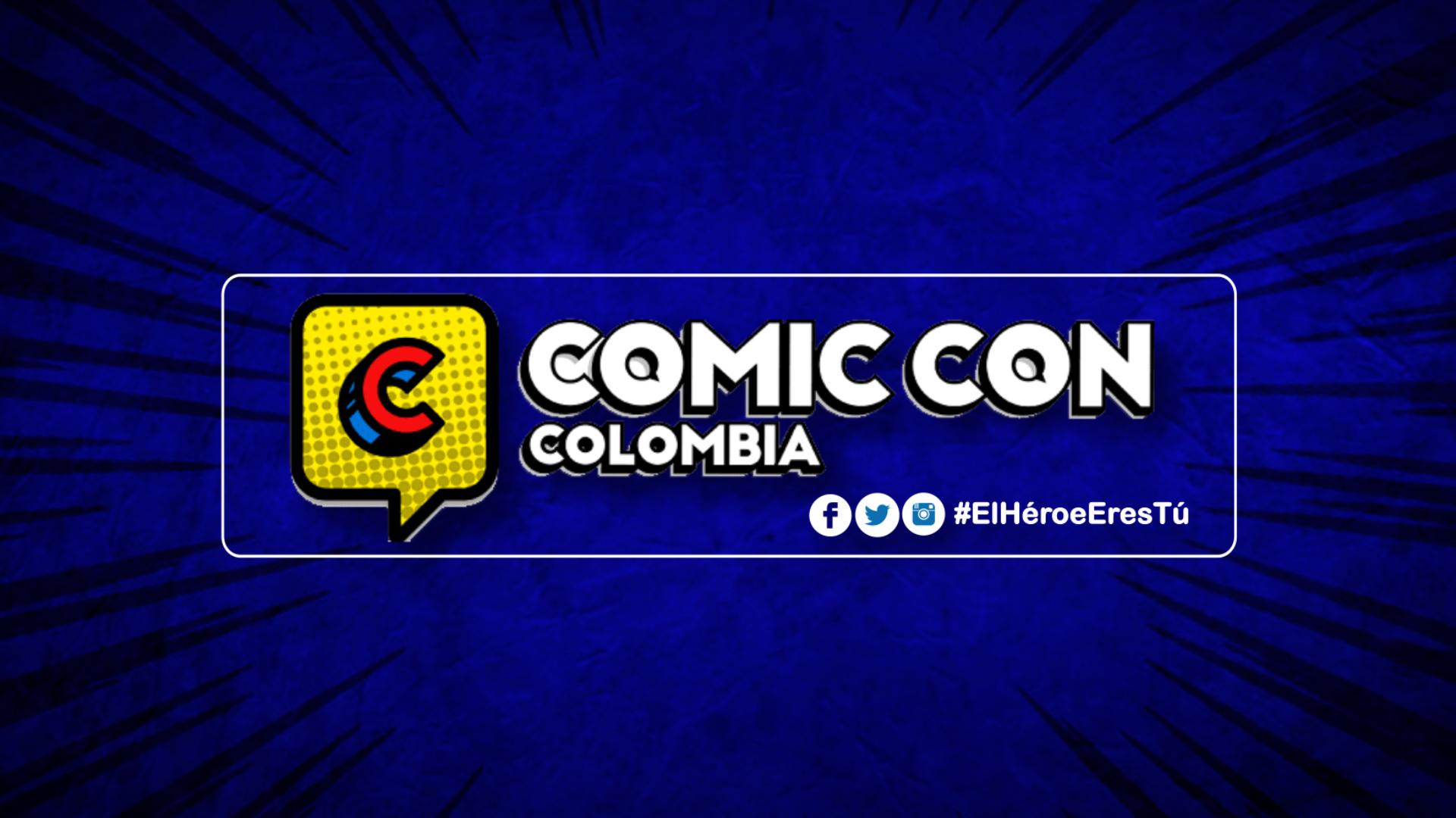 Comic Con Azul